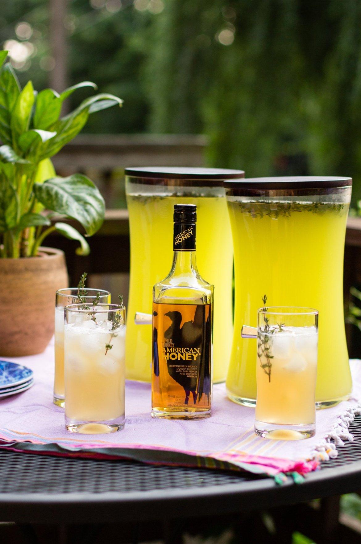 american honey, wild turkey, bourbon, summer cocktail recipes, summer get togethers, sponsored
