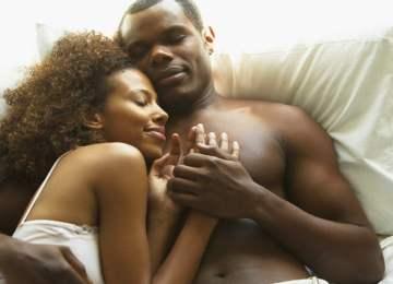 Couple Cuddling in Bed | The Kenyan Man