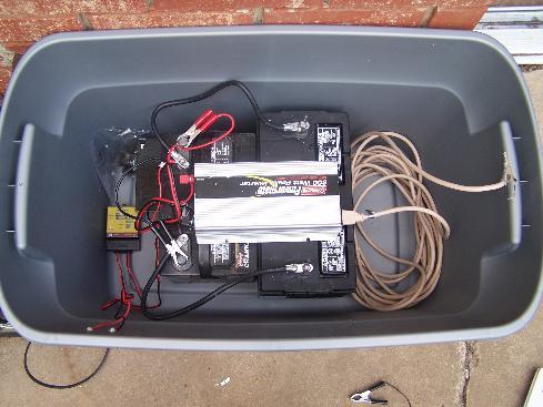 wind generator battery bank