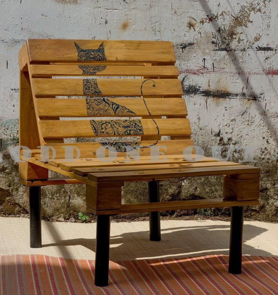 Odd One Out: Designer Monica Bhandulau0027s Upcycled Shipping Pallet Furniture  Range