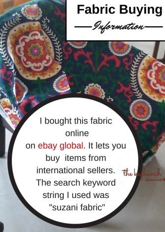 Suzani fabric - ebay