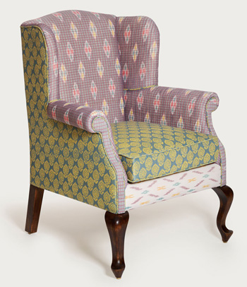 The Tobias Wingback Chair from limón