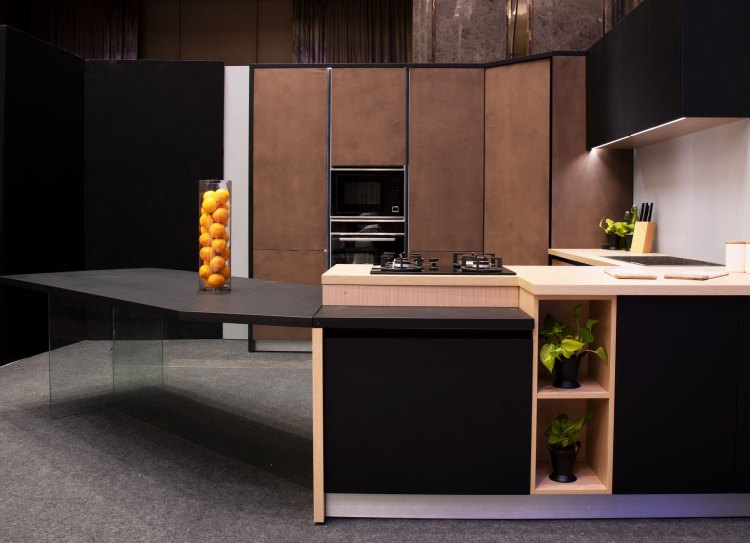 Handcrafted kitchens from Würfel Küche MYSTORY on TheKeybunch decor blog