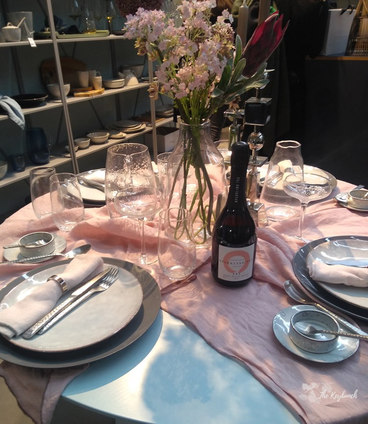 A beautiful crystal glass collection displays at Ambiente 19, tradefair in Messe Frankfurt