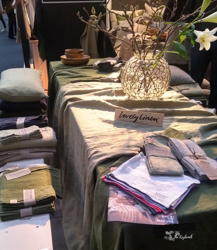 Linen for a natural Back to Nature feel from Lovely Linen