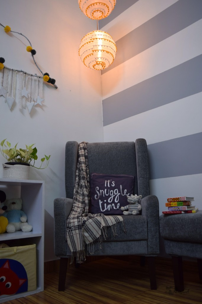 Home decor Tour by Ankita and Sitanshu's in Lucknow - Baby room corner