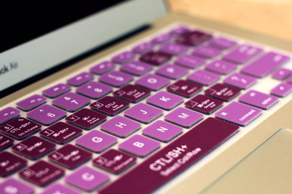 Grape Drink Purple Keyboard Cover - KeyCuts Keyboard Covers for Mac Excel