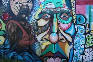 Eureka Murals close-up