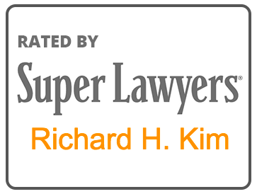 Rated by SuperLawyers - Richard H. Kim