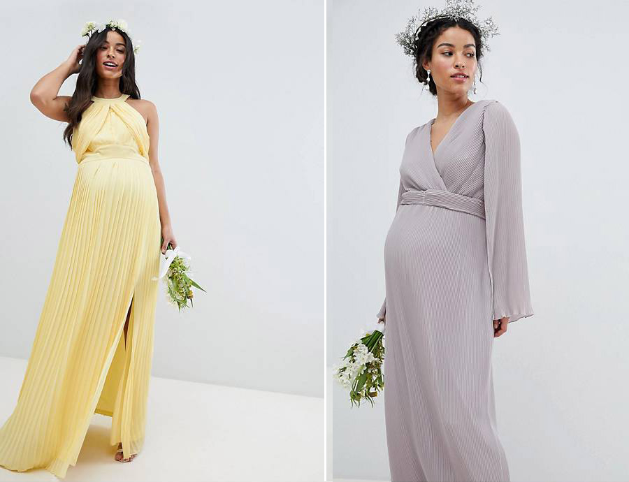 Asos-Maternity-Bridesmaid-Dresses
