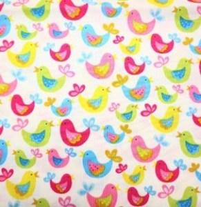 J - colourful birds