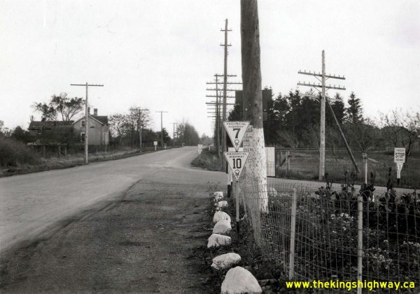 Ontario Highway 7 Index - History Of