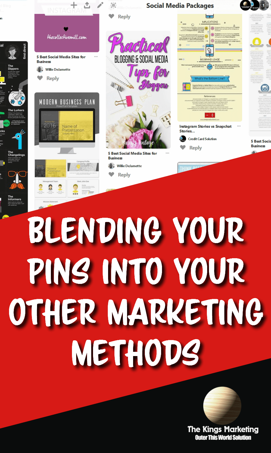 Blending Your Pins into Your Other Marketing Methods