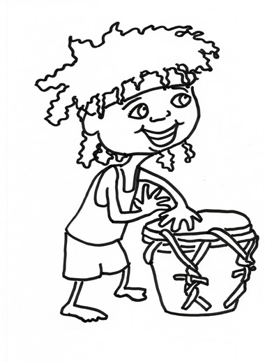 Free downloads Nursery Rhymes mp3, colour me in and lyrics