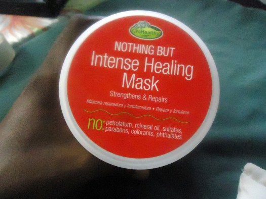 Natural hair products- Nothing but Intense Healing Mask- Good hair conditioner