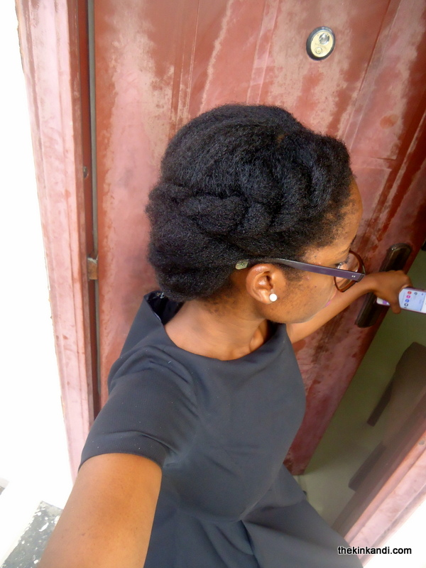 Simple Professional 4c Natural hairstyle