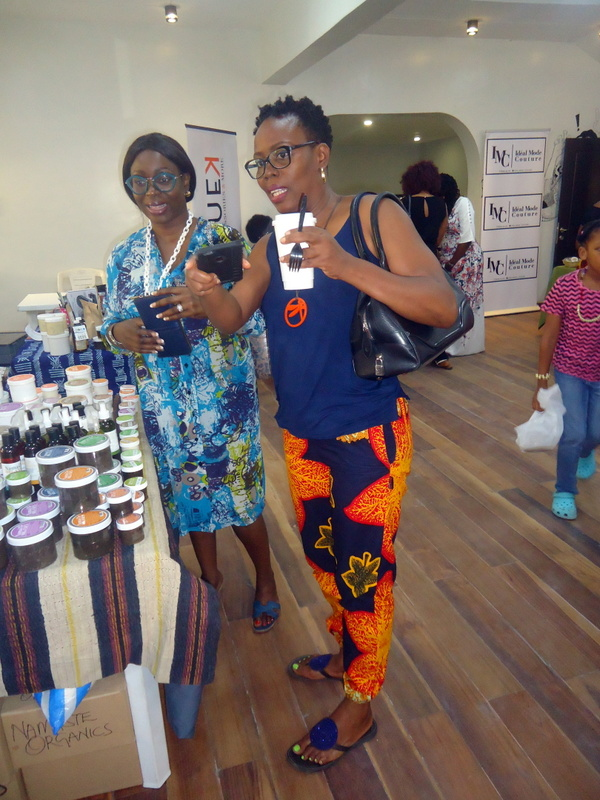 Bright Ankara Pants- Lagos natural hair meet-up, Naturals in the City 13
