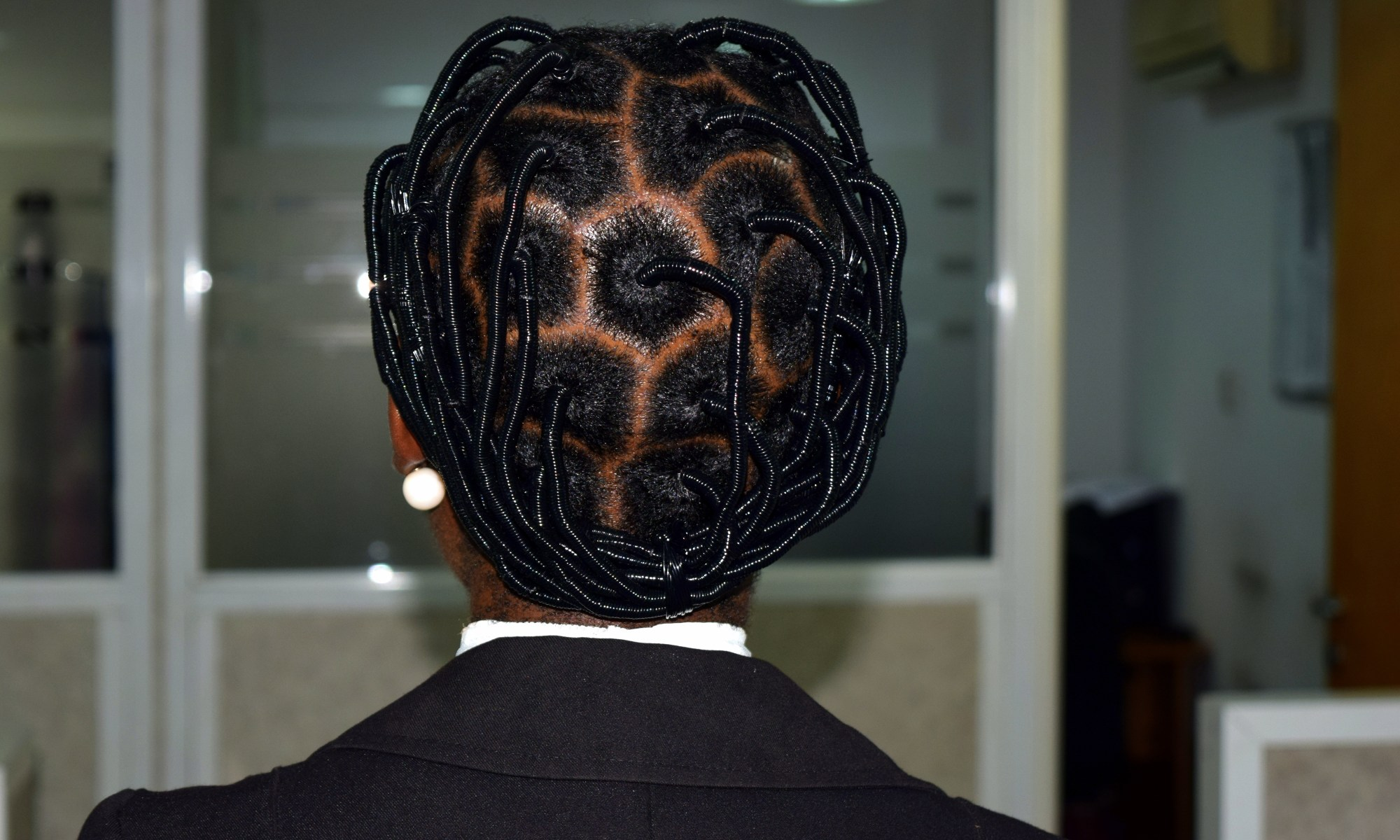 Another African Threading Hairstyle The Kink And I