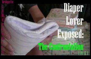 Bridgette exposes the diaper fetish lover 1.866.355.8176