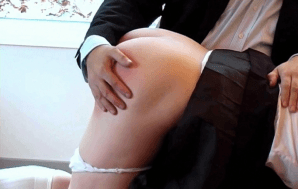 Spanking Alyssa Over Your Knee