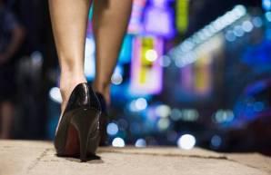 sissy walk of shame