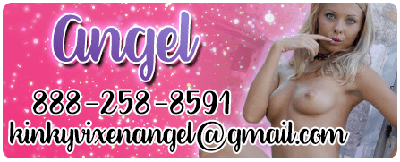 The Best Phone Sex - Your Wicked Angel 888-258-8591