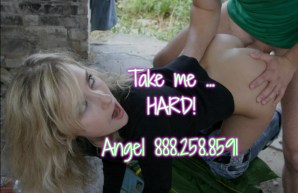 Forced Sex - Angel 888-258-8591