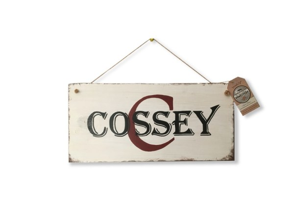 Sign-Monogram-Cossey