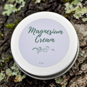 Magnesium Cream with Background