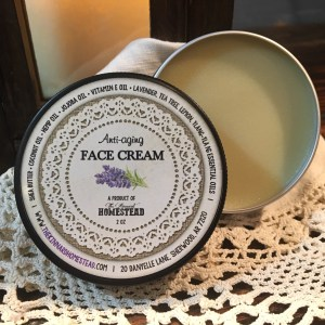Face Cream with Background