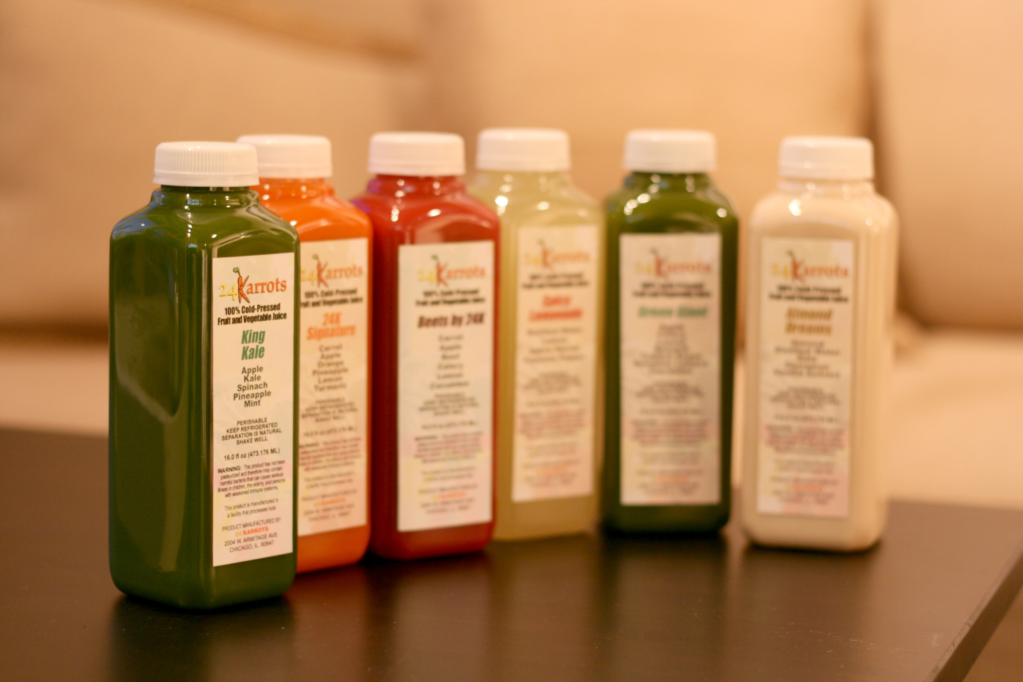 3 Day Juice Cleanse with 24 Karrots - The Kissing Booth Blog