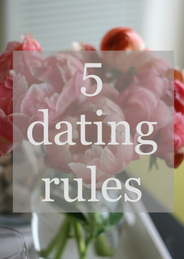 dating kissing rules