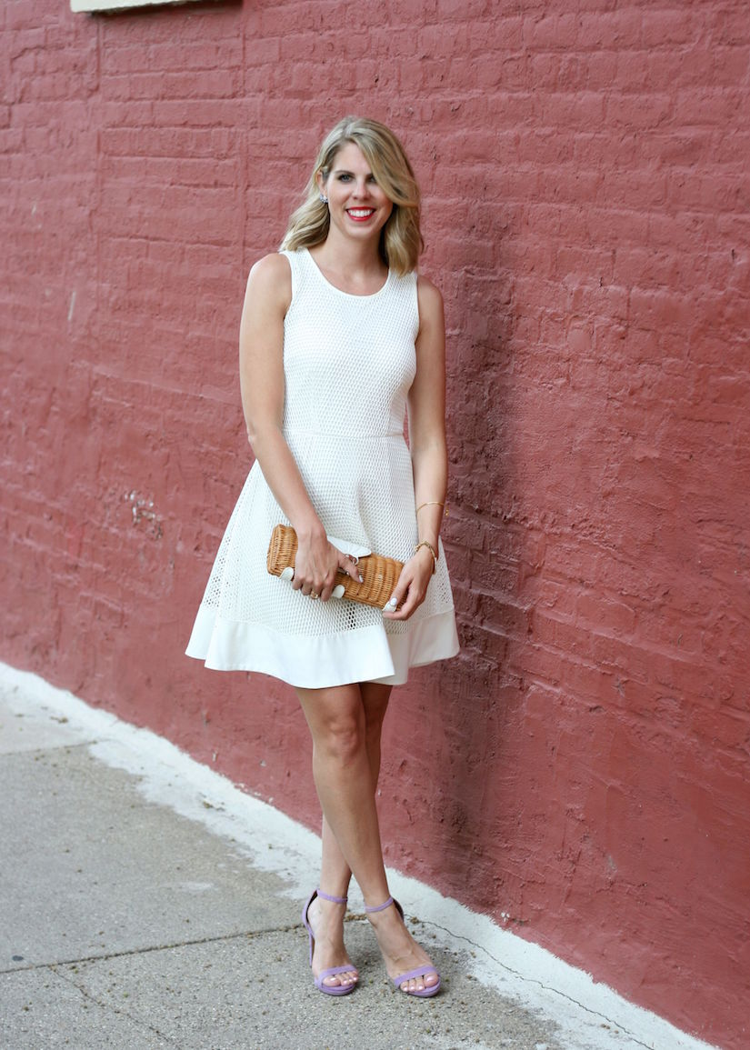 White Summer Dress - The Kissing Booth Blog