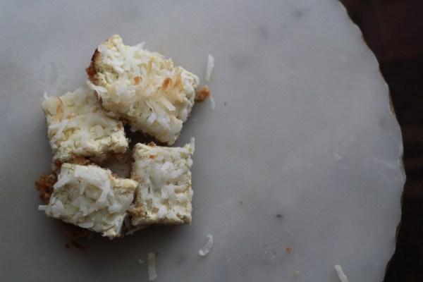 Coconut-Lime Bars