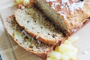Piña Colada Banana Bread