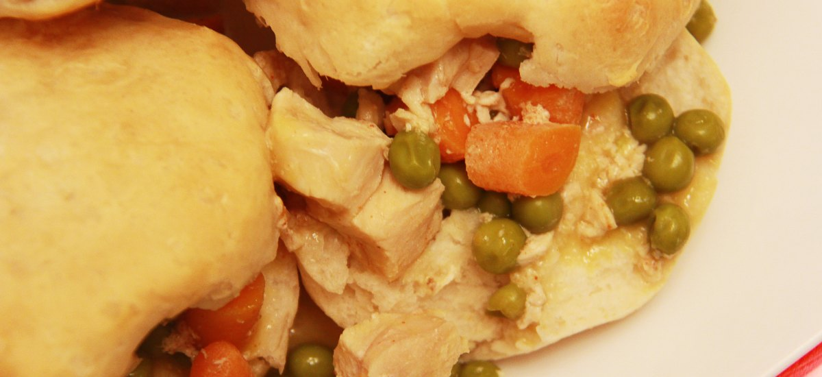 Slow Cooker Southern Chicken and Biscuits