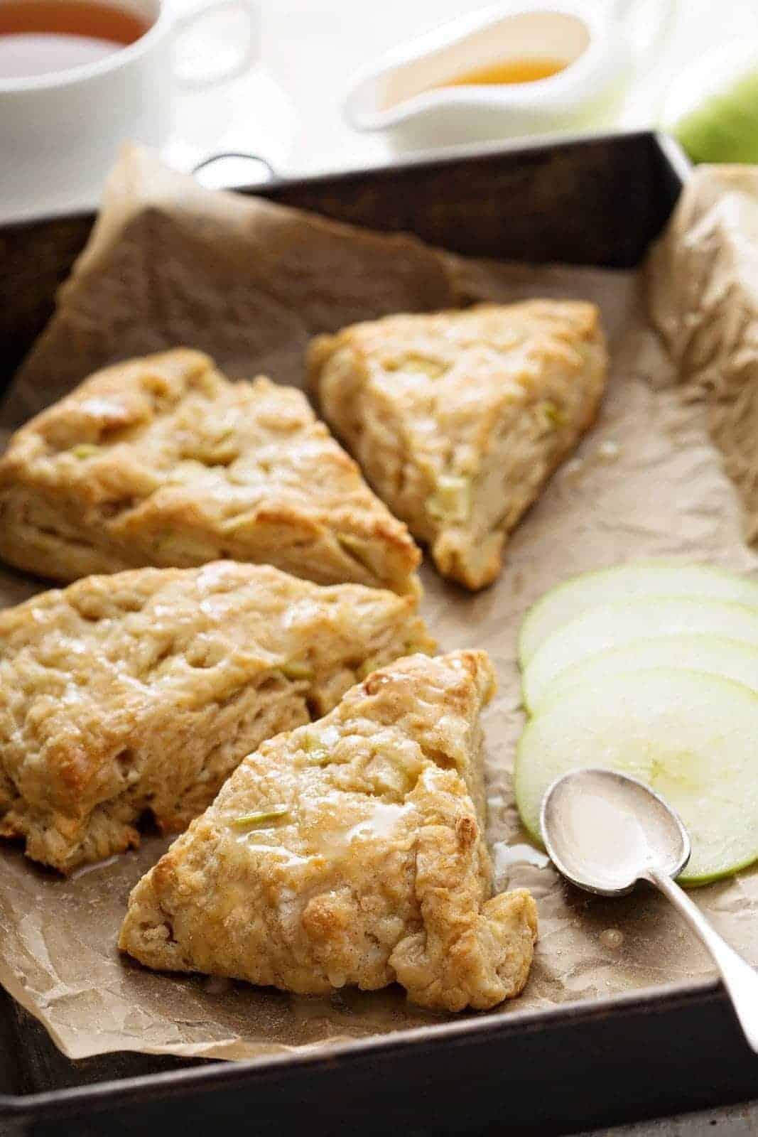 Apple Scone Recipe The Kitchen Magpie