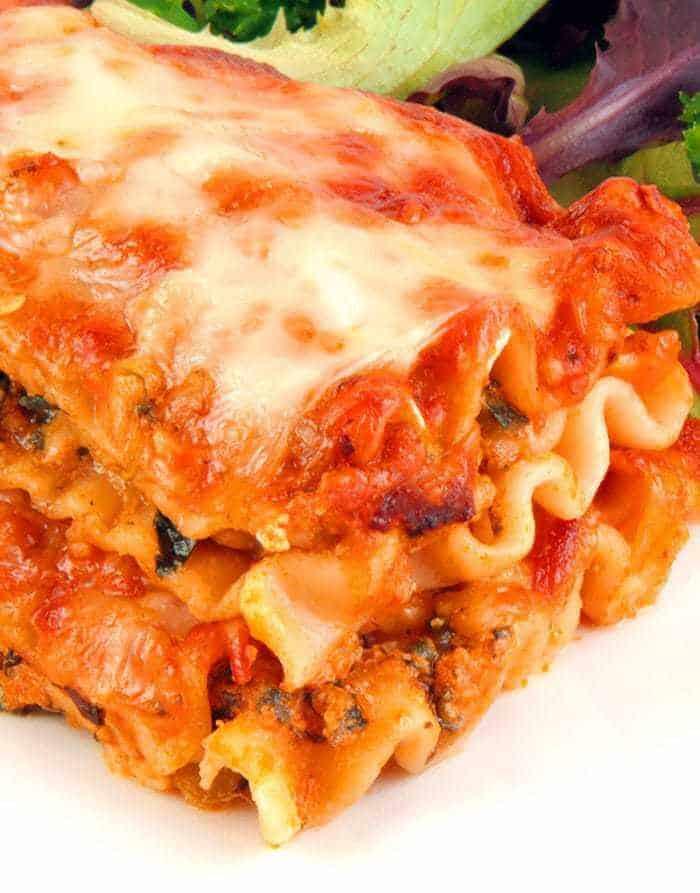 Vegetable Lasagna With No Boil Noodles  The Kitchen Magpie
