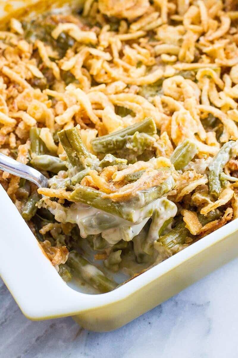 Asparagus Green Bean Casserole The Kitchen Magpie