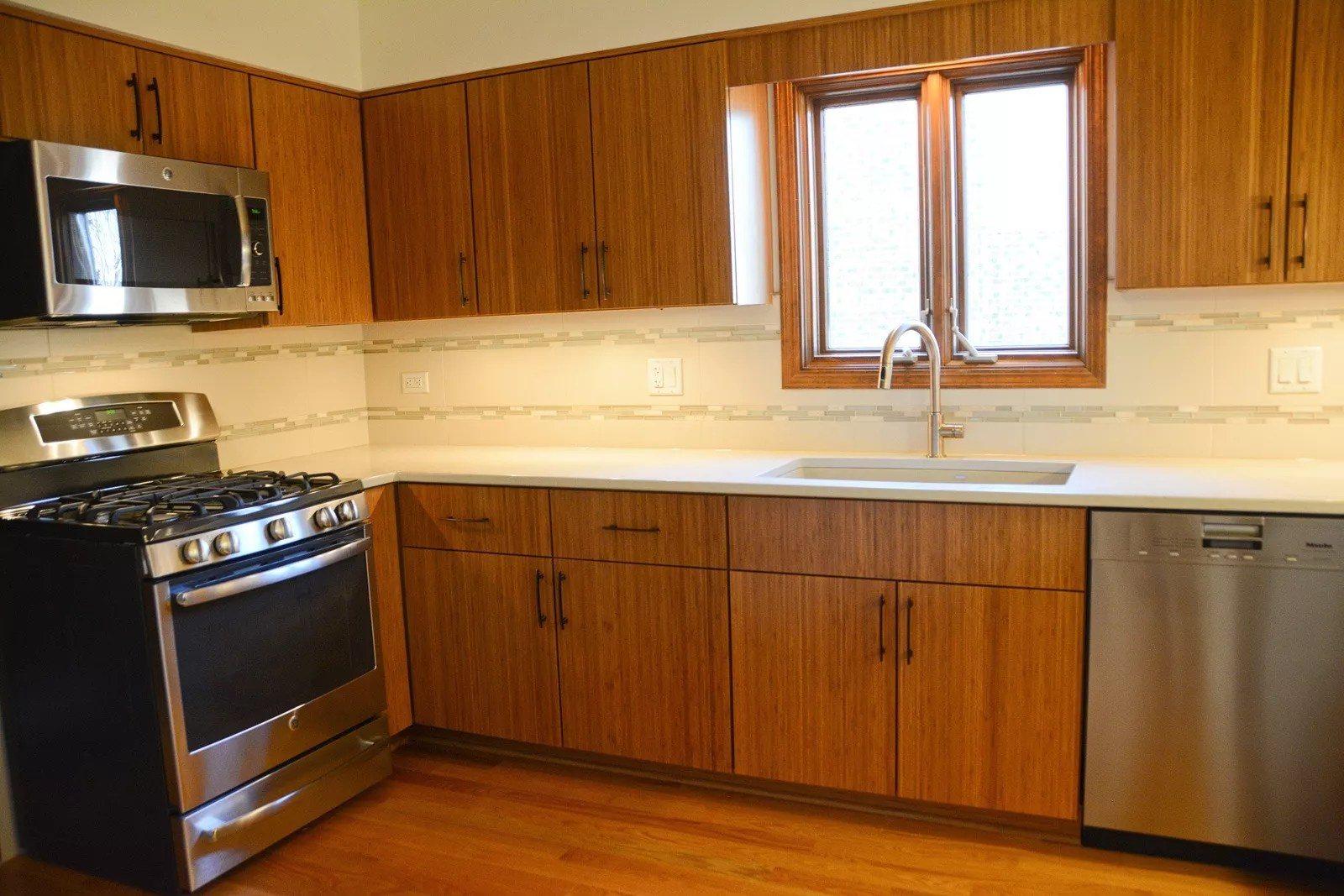 Refacing Contemporary Bamboo Cabinet Doors Photo Gallery