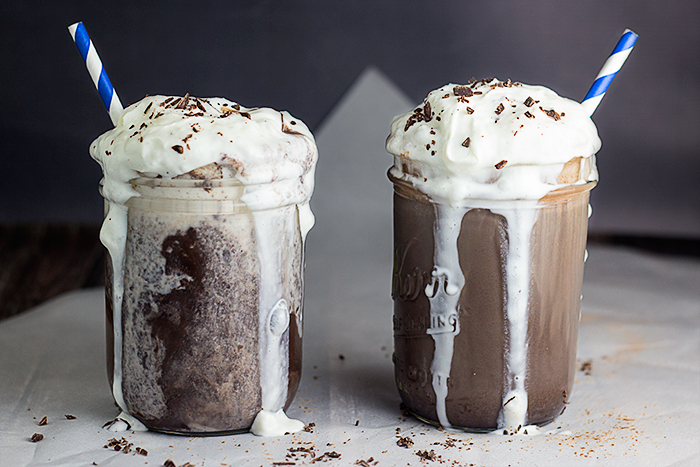 German Iced Chocolate (Eisschokolade) by the Kitchen Maus