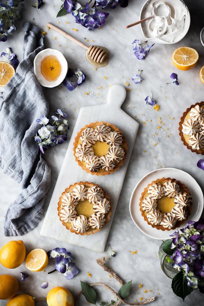 Coconut Lemon Meringue Tarts Paleo GF The Kitchen McCabe