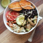 Black Bean Sweet Potato Buddha Bowl