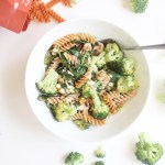 Spinach Broccoli Pasta Bake
