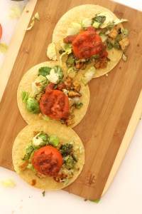 Tangy and tasty tacos that are full of flavor, come together in under 30 minutes, and taste absolutely delicious!