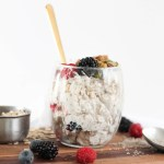 Triple Berry Overnight Oats