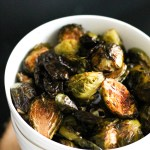 Crispy Balsamic Roasted Brussels Sprouts