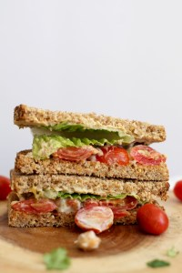 This spicy chickpea & tomato sandwich is a great vegan lunch that's filling and doesn't break the bank! Filled with healthy fats, flavor, and protein, this will leave you satisfied for hours.