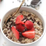 Chocolate Strawberry Oatmeal (V&GF)