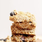 Blueberry Quinoa Granola Bars (V&GF)